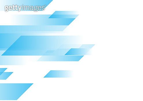 Blue and white geometric minimal background