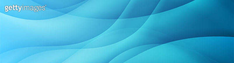 Abstract shiny light blue waves banner design