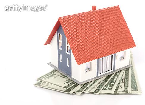 House model on dollars