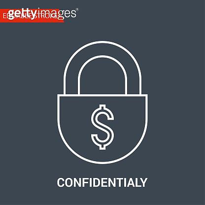 Confidentialy Icon.
