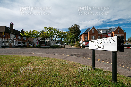 Lower Green Road in Pembury, England