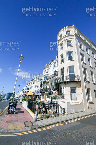 Marine Parade in Brighton, England