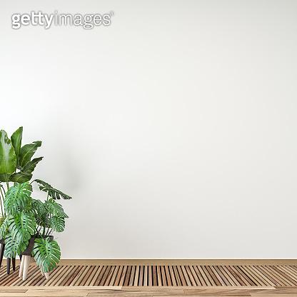 Empty modern bathroom interior stock photo