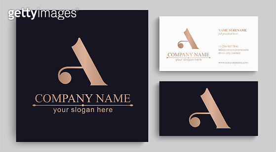 Letter logo or monogram. For your business. Vector sign.