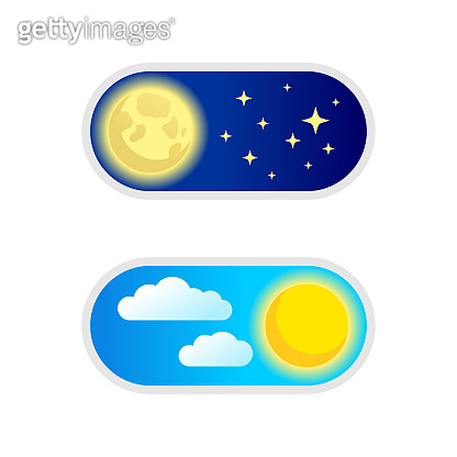 Day and night switcher - web button