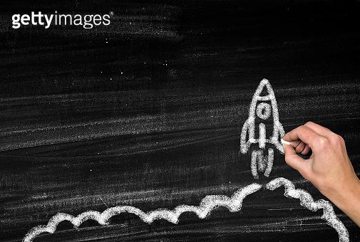 Rocket launching,startup new business