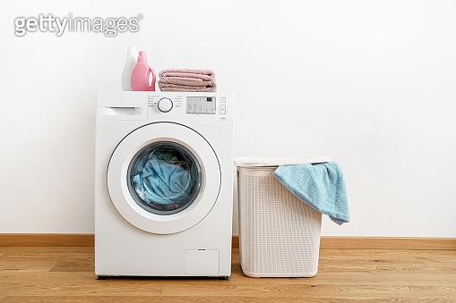 Washing with washing machine