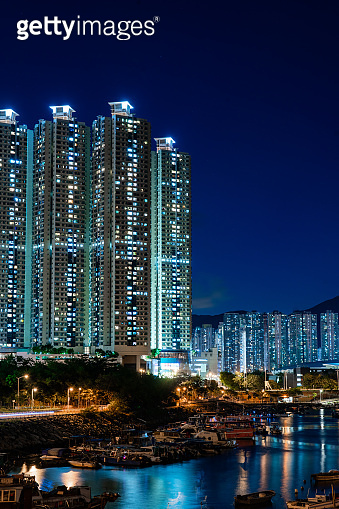Highrise residential building in Hong Kong