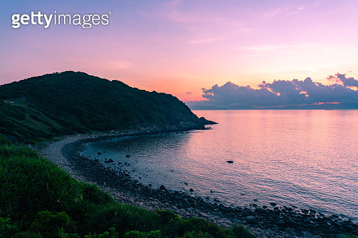 view of A seascape of Tap Mun or Grass Island where is located in Sai Kung