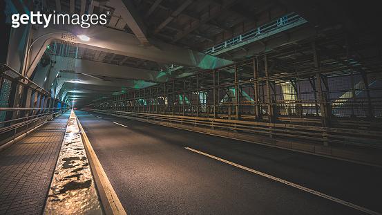 Driving on the bridge