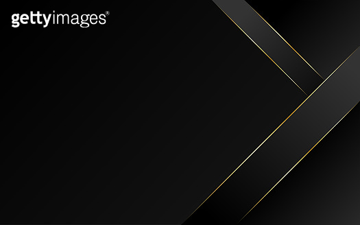 Abstract geometric oblique line triangle gold luxury modern frame with dark minimal subtle vector background