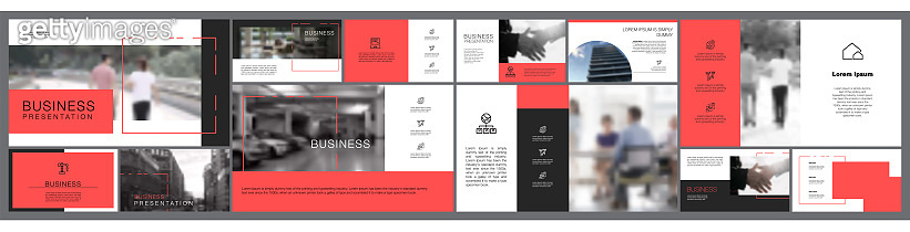 Nine Startup Business Slide Template Set
