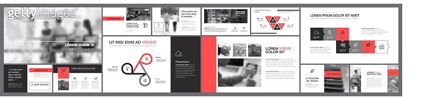 Nine Management Slide Template Set