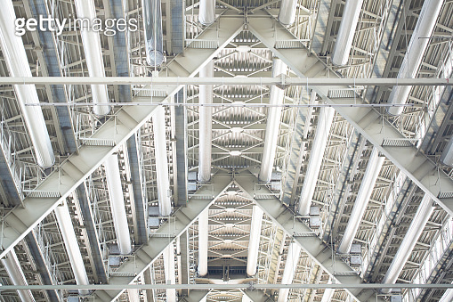 Abstract design repeating structure