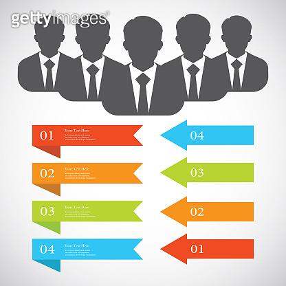 Businessman silhouette avatar profile picture group, team,