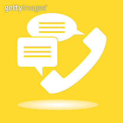 Phone icon vector. Call center, device gadget, telephone contact