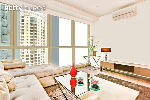 Apartment with luxury facilities and sofa set.