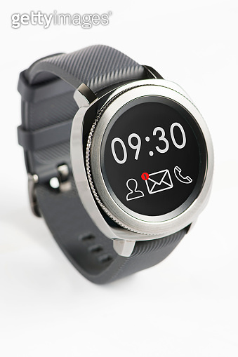 smart watch stock photo
