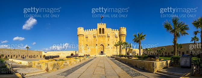 Citadel of Qaitbay, Alexandria, Egypt