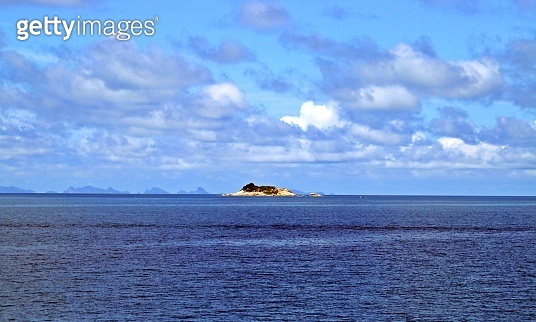 Small islet in the sea of the Gulf of Thailand.