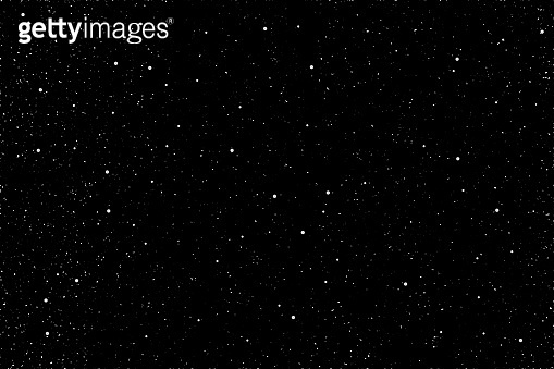 Abstract space background. Illustration of outer space and a large number of stars.
