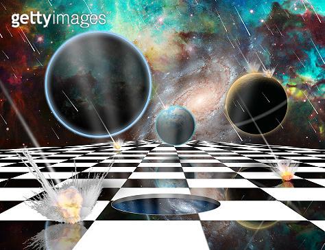 Planetary Armageddon Wormhole