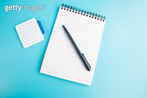 Notepads and pen
