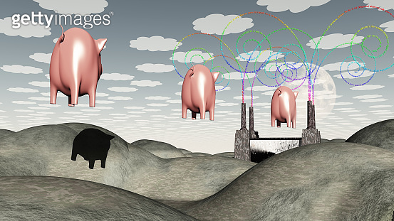 Factory and Pigs