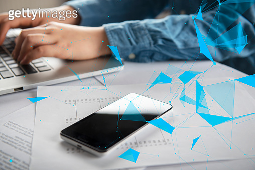 Mobile device and technology concept