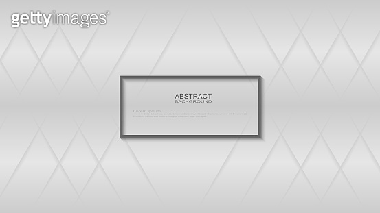 Abstract Modern Lines Shiny White and Gray Background