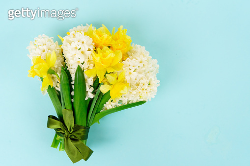 hyacinth and daffodils