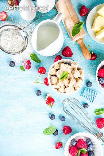 Summer baking background