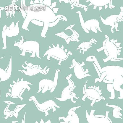 Dinosaurs background 01-03