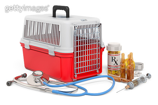 Veterinary Services concept, 3D rendering isolated on white background