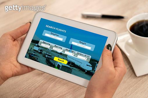 Online Buying Airplane Ticket