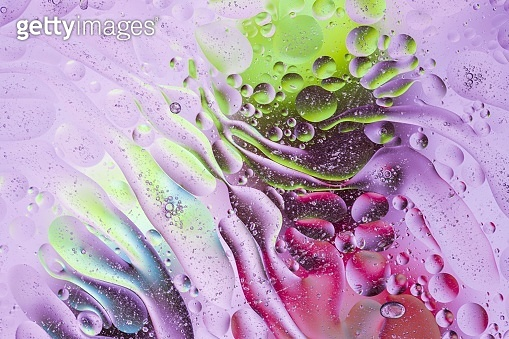 Close up view of purple, red, orange, yellow colorful abstract design, texture. Beautiful abstract backgrounds.