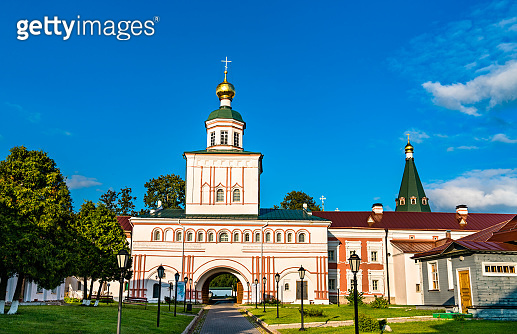 Church of St. Michael the Archangel at Valday Iversky Monastery in Russia