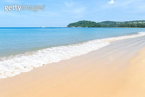 Clean beach in South of Thailand