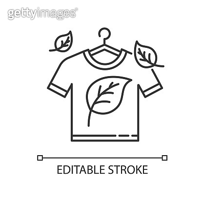 Eco dry cleaning pixel perfect linear icon. Clothes washing, laundry service. Organic detergent. Thin line customizable illustration. Contour symbol. Vector isolated outline drawing. Editable stroke