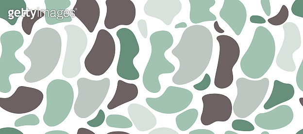 Blobs on white background. Vector illustration