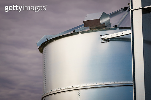 Silo, storage of agricultural production.