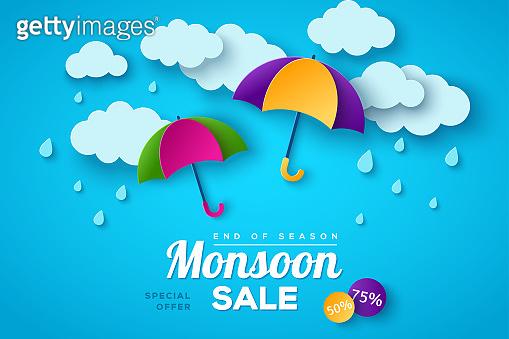 Monsoon sale offer banner