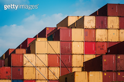 Cargo containers for Logistic Import Export business