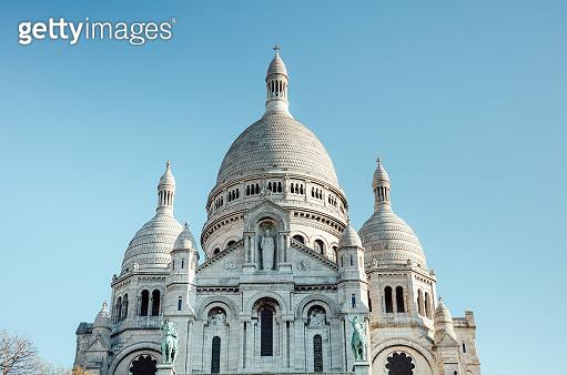 Basilica of the Sacre Coeur, Paris, France