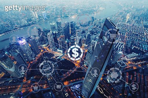 Fintech electronic banking internet network finance technology