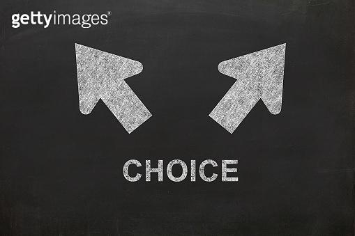 Choice decision direction leadership courage