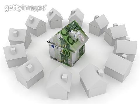 Euro money finance house rental buy real estate