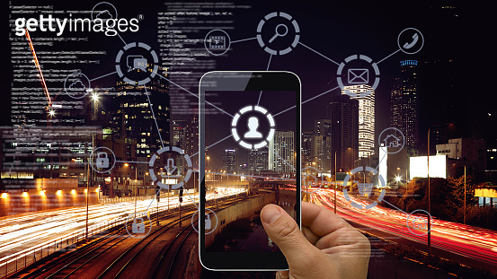 Social media cloud computing 5g network connection technology