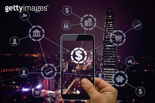 Fintech electronic banking mobile network technology
