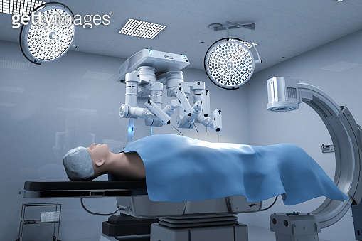 Surgery robot in operation room